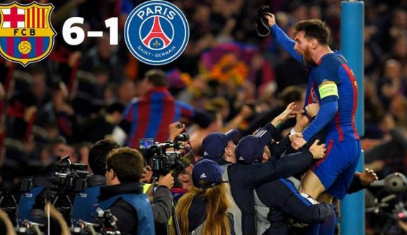 Barcelona - Paris Saint Germain 6-1
